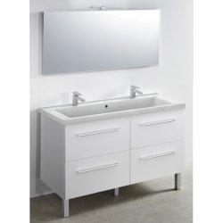 Meubles et vasques en min ral composite carea pour la - Vide sanitaire meuble cuisine ...