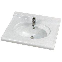 Vasque Carina Titane et équerre standard