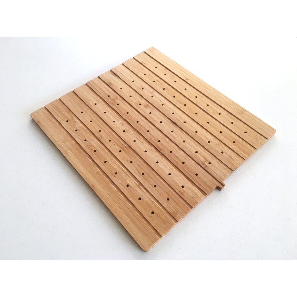 Planche à découper / égouttoir bambou pour éviers Éole et Katla