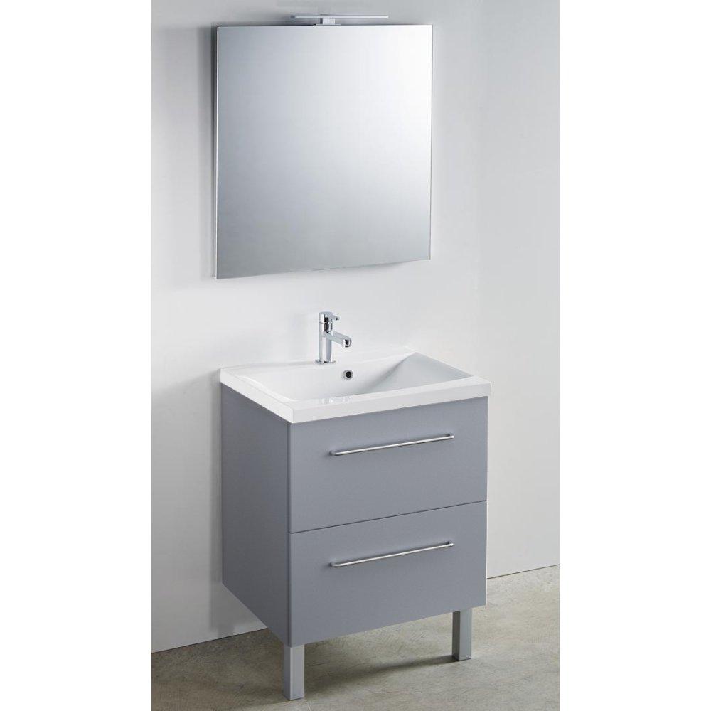 Meuble + vasque Toucan 600 x 480 mm
