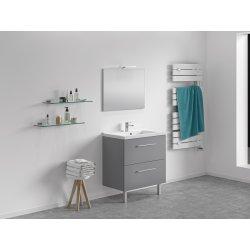 Meuble 80 cm + vasque + miroir - 800 x 480 mm