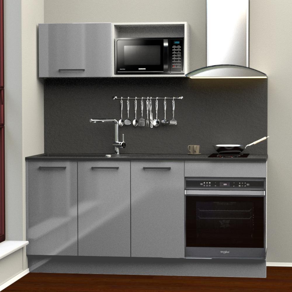 Évier soufflant/séchant ÉOLE 2 cuves blanc - planche composite