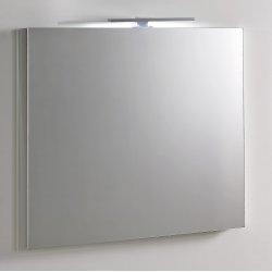 Miroir avec applique LED L700 xH800